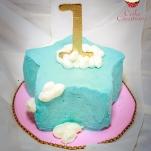 Star smash cake