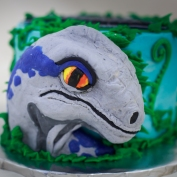 'Blue' for a Jurrassic Worl premier cake