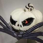This cake has battery operated lights carved into it!